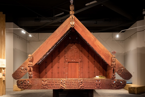 Nuku Tewhatewha 2020 (install view) at The Dowse. Photo by Mark Tantrum