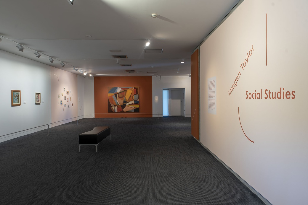 Imogen Taylor: Social Studies. INSTALLATION VIEW. PHOTOGRAPHER JOHN LAKE
