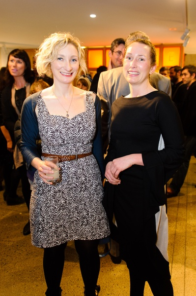 Eve Armstrong and Dowse Director Courtney Johnston