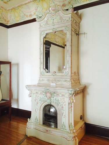 Decorative Fireplace, Turnblad Mansion, American Swedish Institute