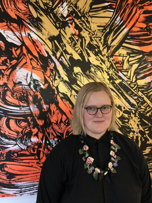 Milly Mitchell-Anyon, 2018 Blumhardt Curatorial Intern