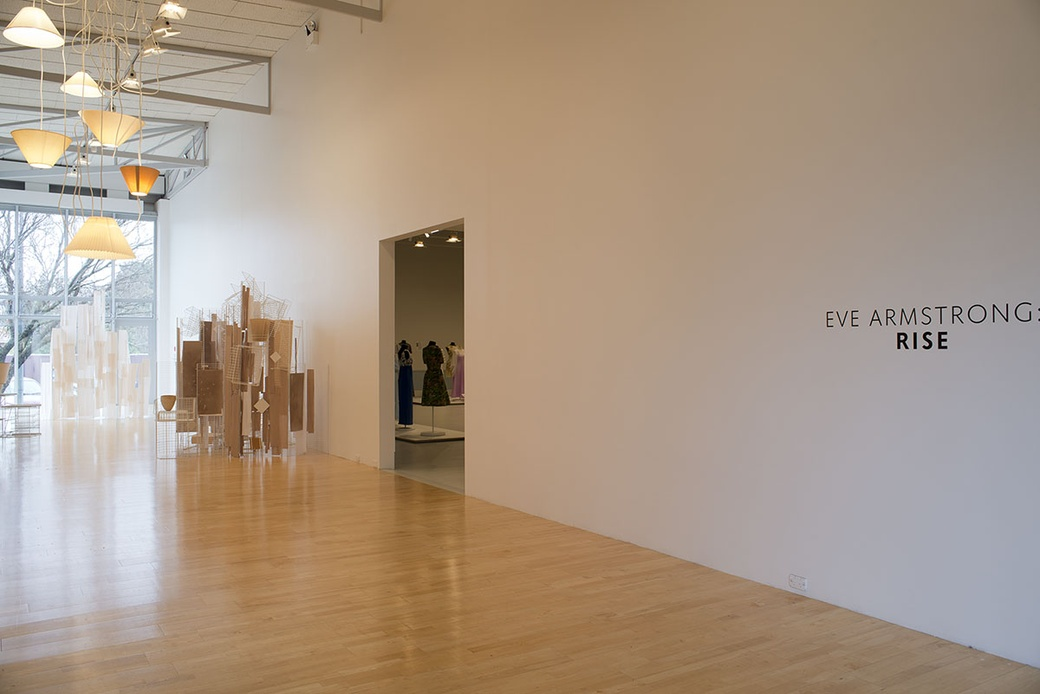 Eve Armstrong: Rise installation shot by John Lake