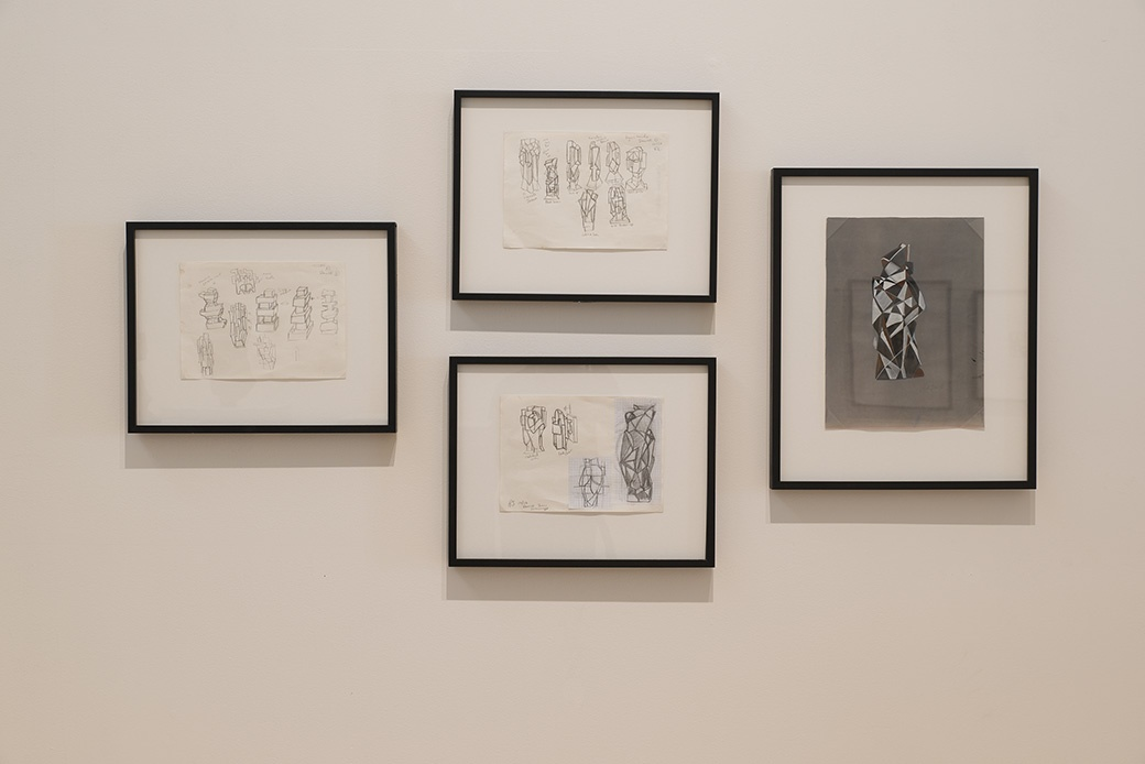 RICHARD STRATTON: LIVING HISTORY, INSTALLATION VIEW. COURTESY OF THE DOWSE ART MUSEUM. PHOTO JOHN LAKE