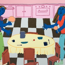 CLAUDIA KOGACHI, TABLE TENNIS, 2018. IMAGE COURTESY OF THE ARTIST