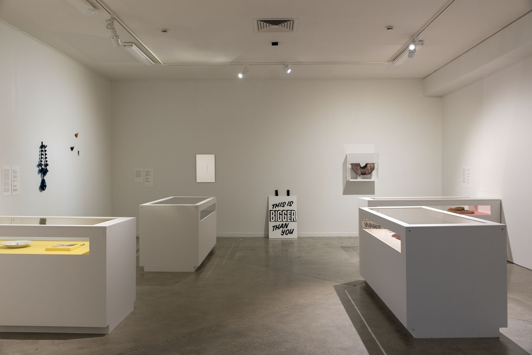 Installation view 'The Critique of Preciousness'