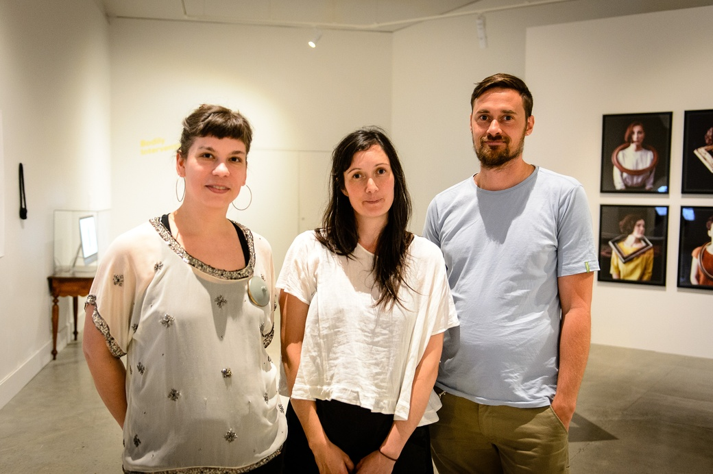Lauren Kalman, Renee Bevan and Matthew McIntyre Wilson