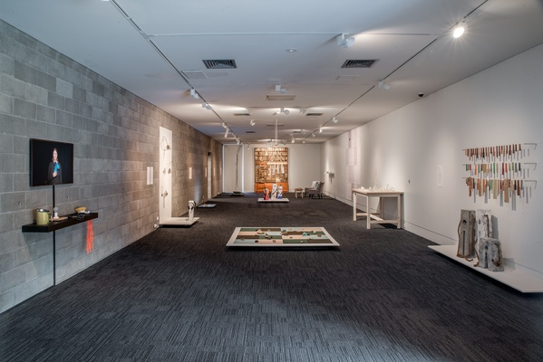 Handshake 3: Reflect.  Installation View, 2015. Courtesy Of The Dowse Art Museum. Photographer: Shaun Matthews