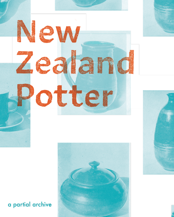 New Zealand Potter: a partial archive - available at Mine: The Dowse Store