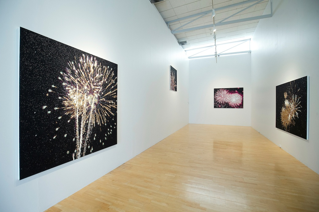 Reuben Paterson, Black Matter (install view) at The Dowse, 2020. Photo by Hagen Hopkins.