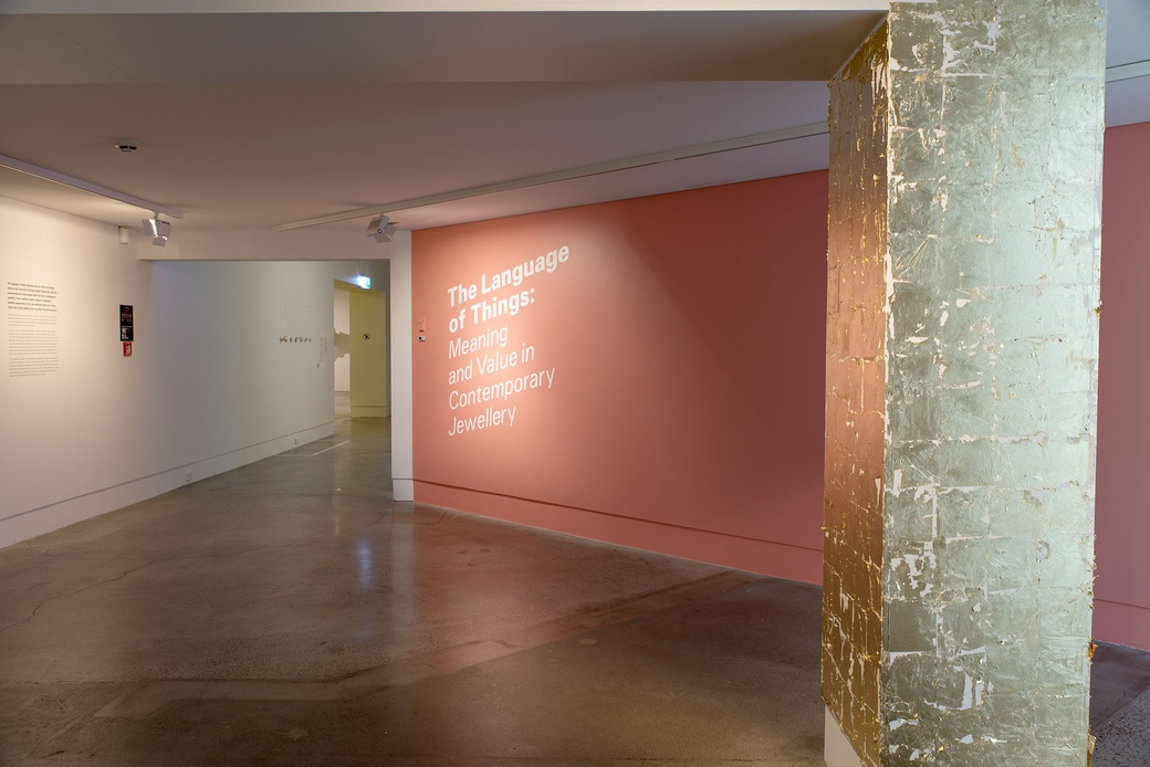 'The Language of Things' installation view