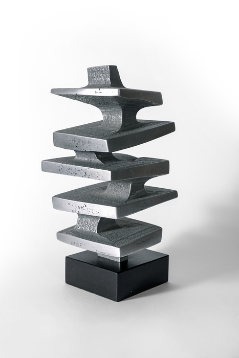 Guy Ngan, Aluminium Sculpture No. 9, 1975. Aluminium. Private Collection. Photo: Jess O'Brien.