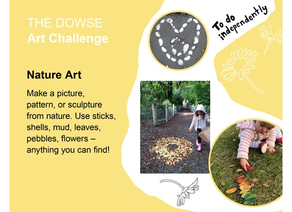 Challenge 3: Do independently - Nature Art