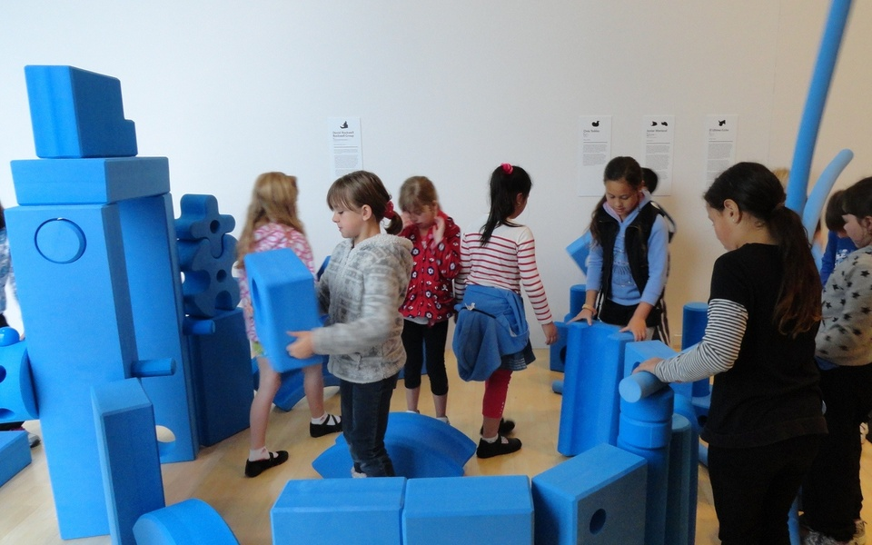 Children in our exhibition Play