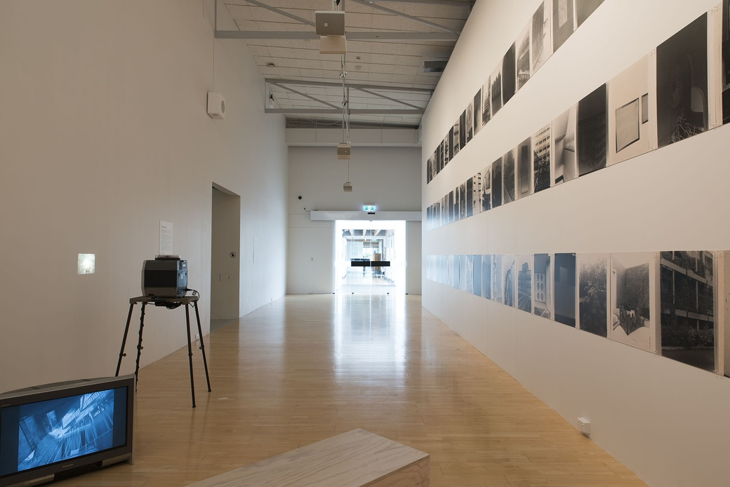 Installation view, Gavin Hipkins: The Domain. Photographer John Lake.