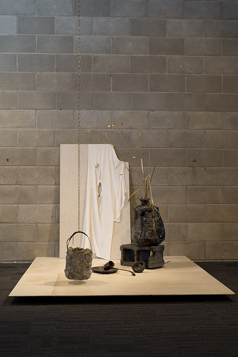Installation view of work by Bekah Carran. Photographer John Lake