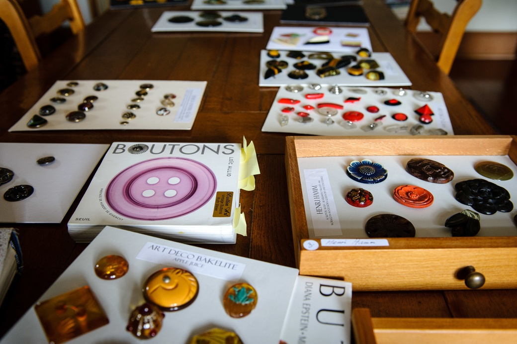 Buttons from the Ruth Meier Collection. Photo: Mark Tantrum
