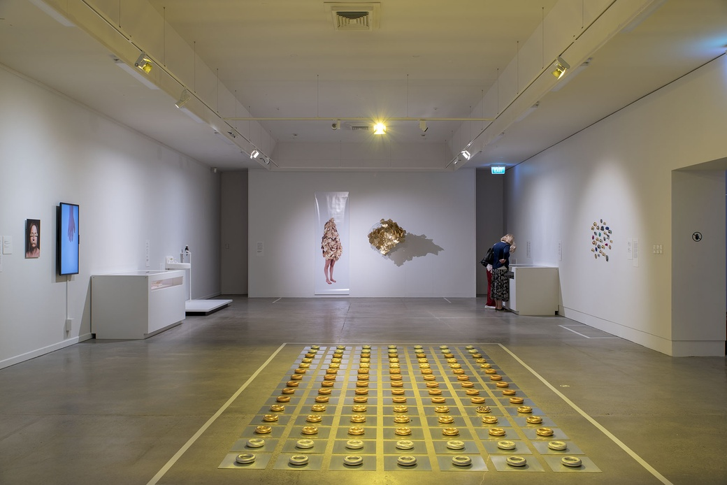 Installation view 'All that Glitters is not Gold'