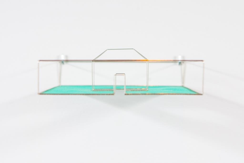 Neil Dawson, Enclosure, 1978. Collection of The Dowse Art Museum, purchased 1979