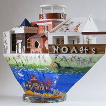 BOB GERRARD, SALVATION ARMY BAND – NOAH'S ARK, 2000. COLLECTION OF THE DOWSE ART MUSEUM