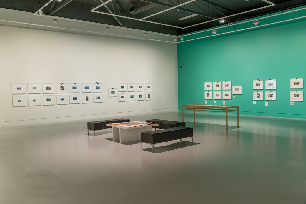 FIONA CLARK: TE IWI O TE WĀHI KORE, INSTALLATION VIEW. COURTESY OF THE DOWSE ART MUSEUM. PHOTO SHAUN MATTHEWS