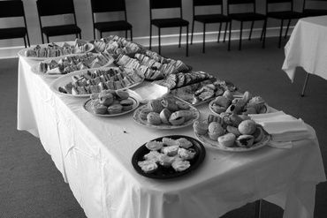 Morning Tea at Levin Spin-In 2016.  Research image. image courtesy Annie Mackenzie