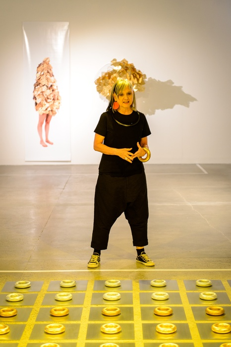 Su san Cohn and her work 'Way Past Real'