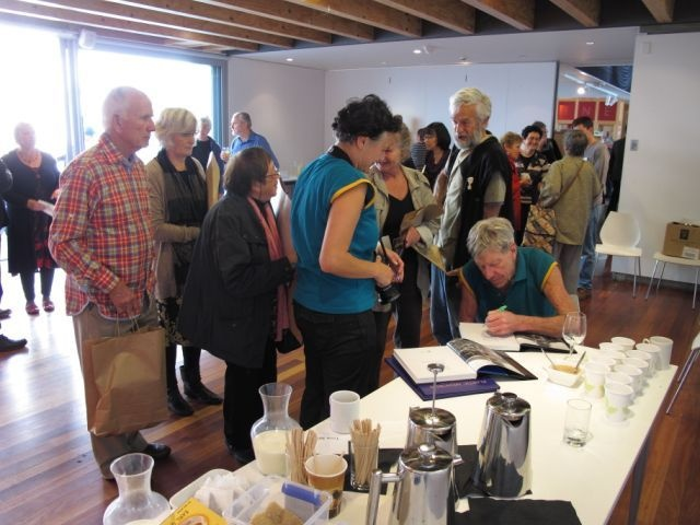 The Friends of The Dowse Coffee and Cake with Barry Brickell event