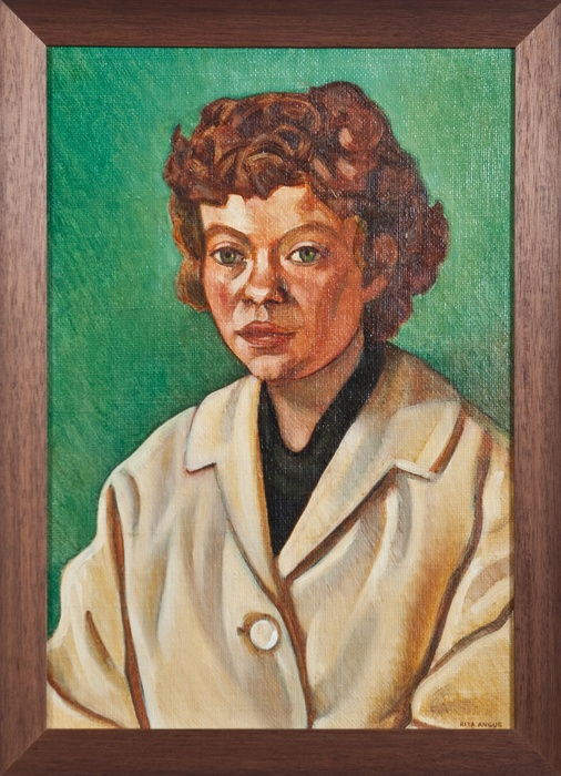 Rita Angus, Joanna - Portrait of a Troubled Mind, 1967-68, Collection of The Dowse Art Museum, gifted by Mr Edward Gilberd 1974