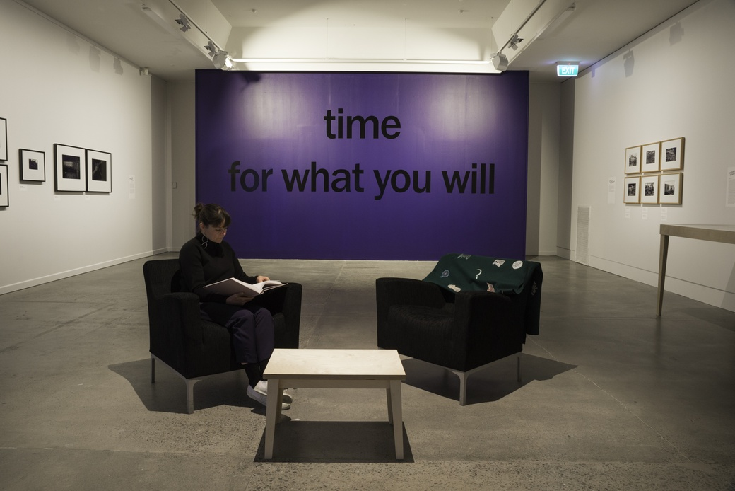 The Future of Work (install shot), 2019. The Dowse Art Museum, photo by Shaun Matthews