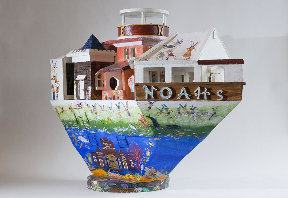 Bob Gerrard, Salvation Army Band Noah's Ark, 2000. Collection of The Dowse Art Museum