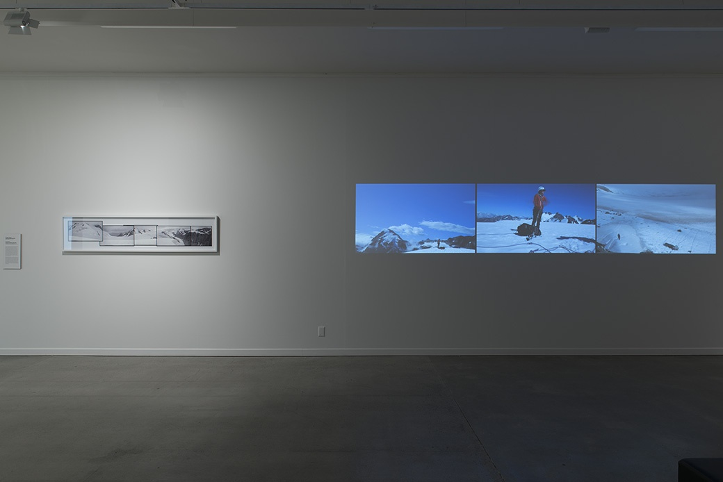 Bridget Reweti, I thought I would of climbed more mountains by now, 2015. INSTALLATION VIEW. COURTESY OF THE DOWSE ART MUSEUM. PHOTO: JOHN LAKE