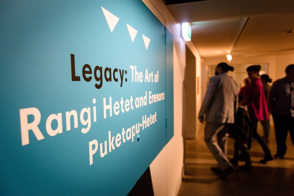 Opening of Legacy: The Art of Rangi Hetet and Erenora Puketapu-Hetet, Courtesy of The Dowse Art Museum