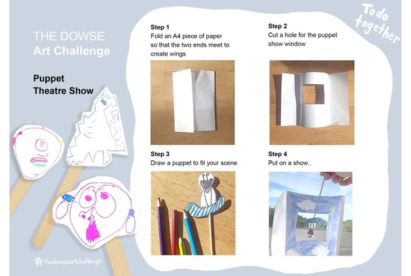 Challenge 6: Do together - Puppet theatre show