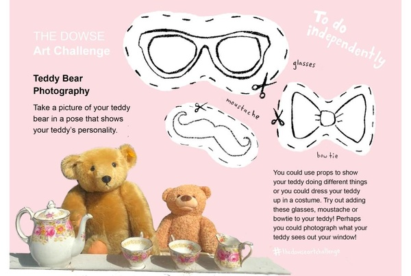 Challenge 5: Do independently - Teddy Bear Photography