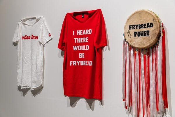 BC Collective, Following the herd 2020 (detail, install view) at The Dowse. Photo by Ted Whitaker.