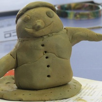 One of the creations made at Epuni's clay workshops