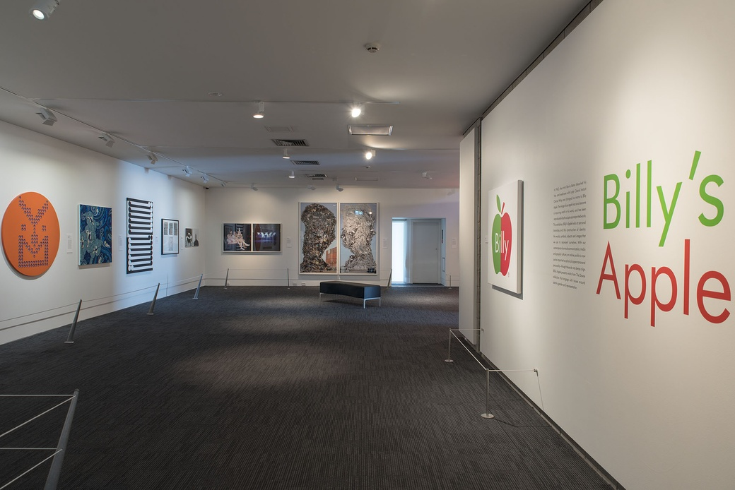 Billy's Apple. Installation View. Photographer John Lake.