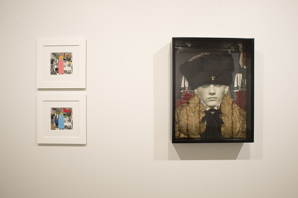Installation view. Photographer: John Lake. Work by  James R Ford and Jacqueline Fraser.