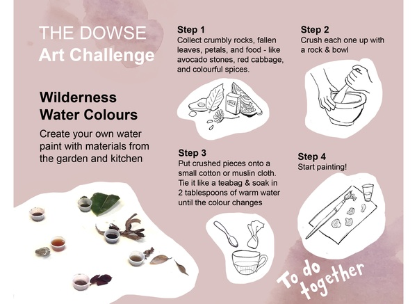Challenge 4: Do together - Wilderness Water Colours